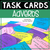 Adverbs Task Cards Activities and Games