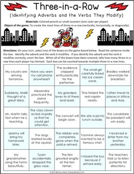 Adverbs Games (Includes Comparative Adverbs, Relative Adverbs, & More!)