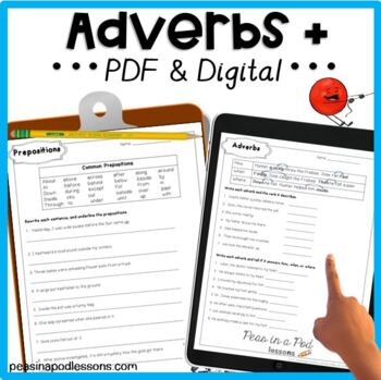 Adverbs and Prepositions!