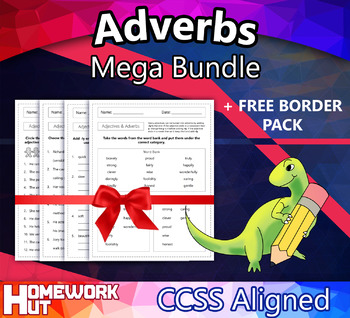 Adverbs Mega Bundle