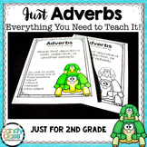 Adverb Activities & Lesson Plans: An Everything 2nd Grade Grammar Bundle