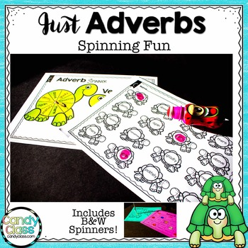 Adverb Games {3 Spinners with Each Spinner = 7 Activities}