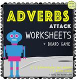 Adverb Worksheets & Board Game Printables