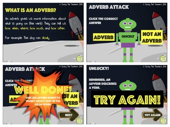 Adverb PowerPoint Game
