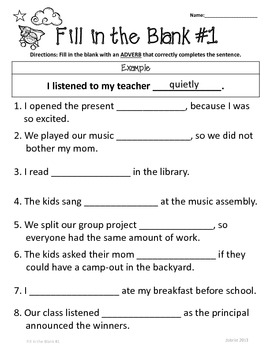 Adverbs: 2nd-3rd Grade Differentiated Practice Worksheets by Common ...