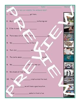 Adverbs 3 Photo Worksheet 1
