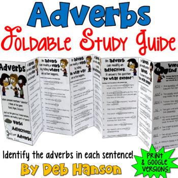 Adverbs: A Bundle of Activities
