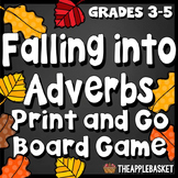 Adverbs, Adverbs Phrases, and Adverbs Clauses Print and Go