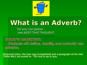 Adverbs : An Introduction
