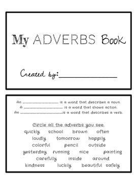 Adverbs Book
