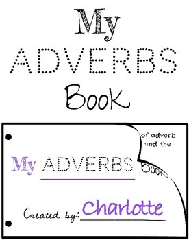 Adverbs Book