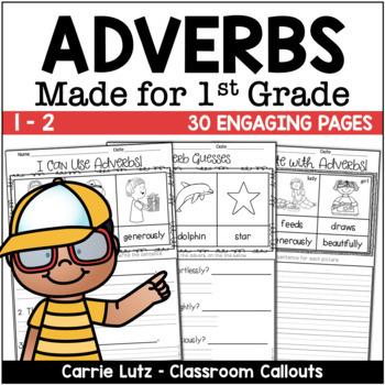 Adverbs Bundle {Pocket Chart and Worksheets}