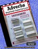 Adverbs Common Core Second Grade L.2.1.E Interactive Notebook