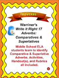 Adverbs--Comparative & Superlative: Warriner's Write it Right 17