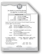 Adverbs Describe Verbs, Adjectives, or Other Adverbs