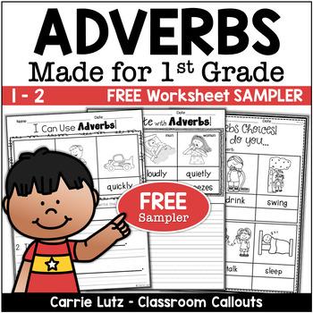 Adverbs Freebie Sampler