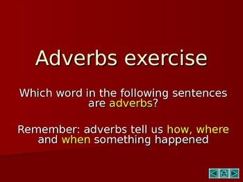 Adverbs - Fun lesson