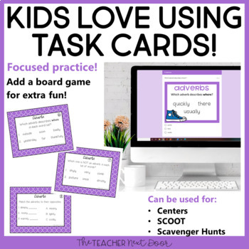 Adverbs Game | Adverbs Center | Adverbs Activities