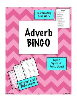 Adverbs Games Bundle {Differentiated}