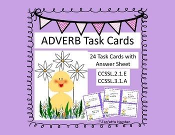 Adverbs L.2.1.E & L.3.1.A