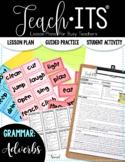 Adverbs Lesson Plan