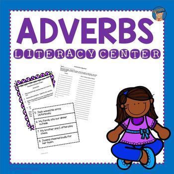 Adverbs Literacy Center