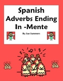 Adverbs -Mente Reference & Practice - Spanish Adverbs - Di