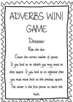Adverbs Mini Unit - Common Core - Differentiation