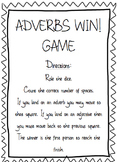 Adverbs Mini Unit - Common Core - Differentiation