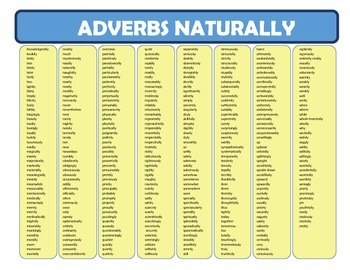 Adverbs Naturally