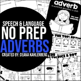Adverbs {No Prep Practice}