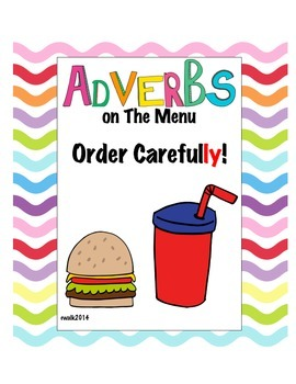 Adverbs On The Menu