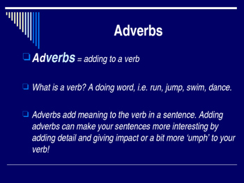 Adverbs PPT