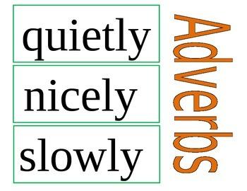 Adverbs (Pack)