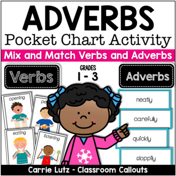 Adverbs Pocket Chart For The Primary Grades