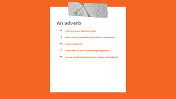 Adverbs Powerpoint presentation