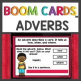 Adverbs Practice Boom Cards™ Distance Learning Activities
