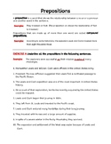 Adverbs, Prepositions, Conjunctions, Interjections. Parts of Speech worksheets