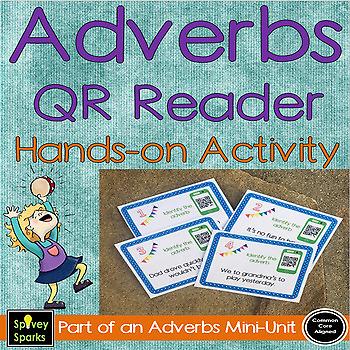 Adverbs QR Reader Activity