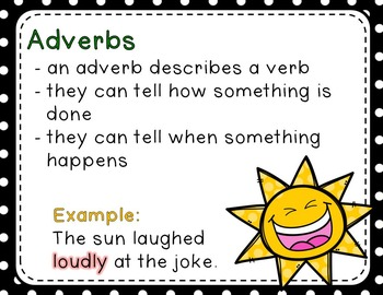 Adverbs - Read the Room, Center, and Mimio Combo