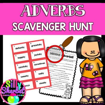 Adverbs Scavenger Hunt