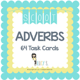 Adverbs Task Cards Scoot