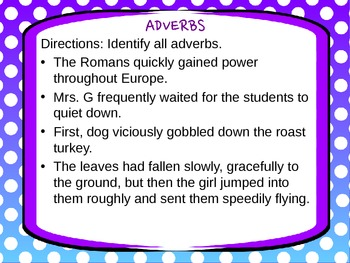 Adverbs: Simple Introduction