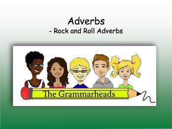 Adverbs Slide Show - PowerPoint Lesson