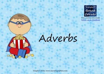 Adverbs Smart Board Lesson