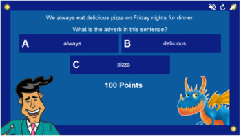 Adverbs Smart Lab Interactive Whiteboard Activities