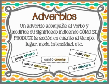 Adverbs (Spanish)