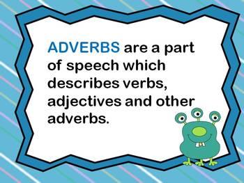 Adverbs Task Cards