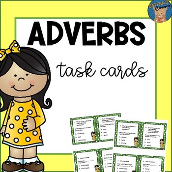Adverbs Task Cards
