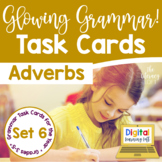 Adverbs Task Cards I Distance Learning I Google Slides and Forms